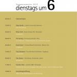 14.5.2013 Vortragsreihe DIENSTAGS UM 6