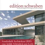 Edition Schwaben - Architekturausgabe 2013
