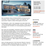 """Juryvorsitz Heinze ArchitektenAWARD 2014 """"Eindrucksvolle Wohnarchitektur"""""""