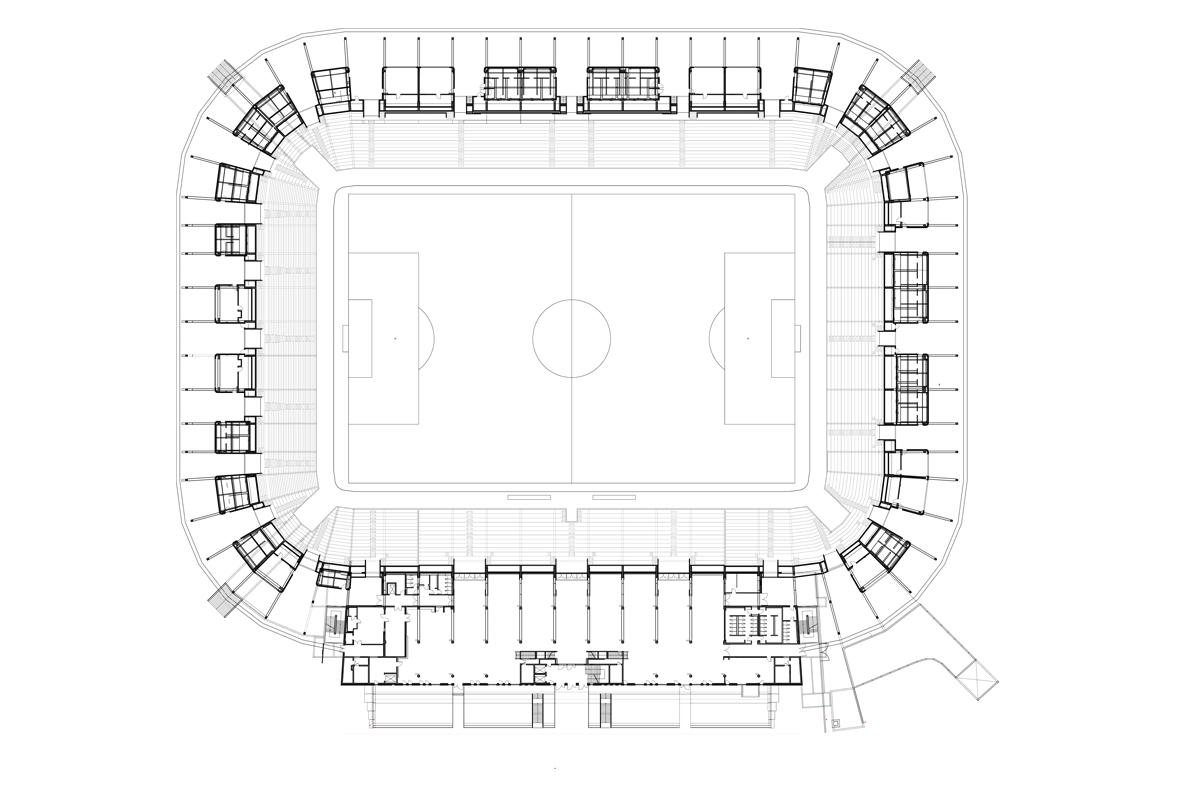 fca fussballstadion augsburg titus bernhard architekten. Black Bedroom Furniture Sets. Home Design Ideas