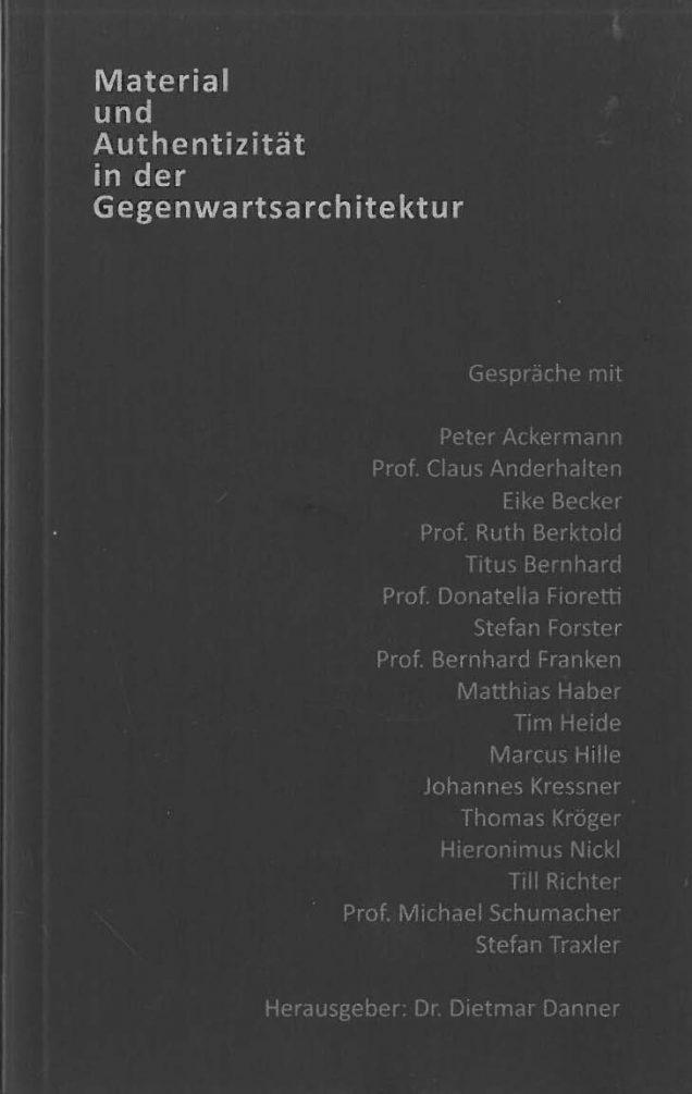 Nora Broschüre - Material und Authentizität