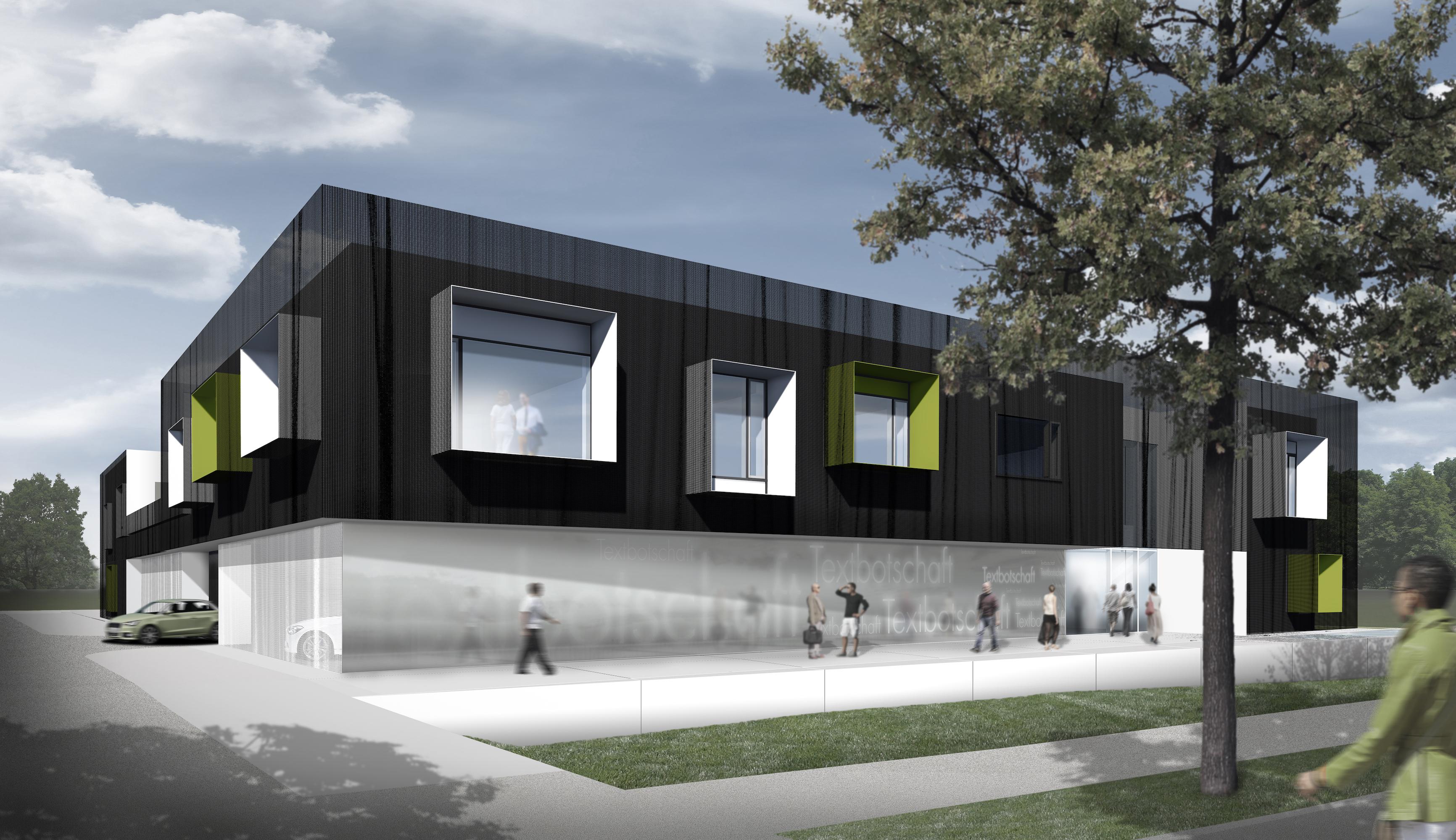 verwaltungsgeb ude ptg augsburg titus bernhard architekten. Black Bedroom Furniture Sets. Home Design Ideas
