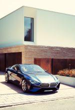 Haus H als location für Präsentation BMW 8er concept, fotografiert von J Konrad Schmidt