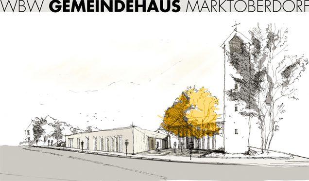 2.Preis beim Wettbewerb Evang.-Luth. Gemeindehaus Marktoberdorf