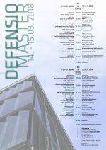 """Titus Bernhard: guest critic an der Uni Innsbruck  """"Defensio"""" der Masterarbeiten 2018"""