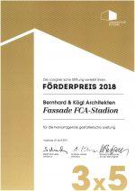 Förderpreis 2018 Langersche Stiftung