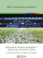 """Vortrag im Rahmen der IAKS Seminarreihe """"Infrastruktur moderner Sportplätze"""""""