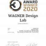 German Design Award Winner 2020: WAGNER Design Lab