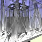 Fassadenstudie-Vertikalverglasung
