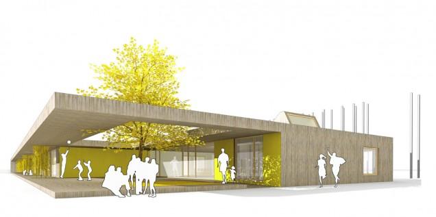 Kindergarten und Jugendzentrum, Göggingen