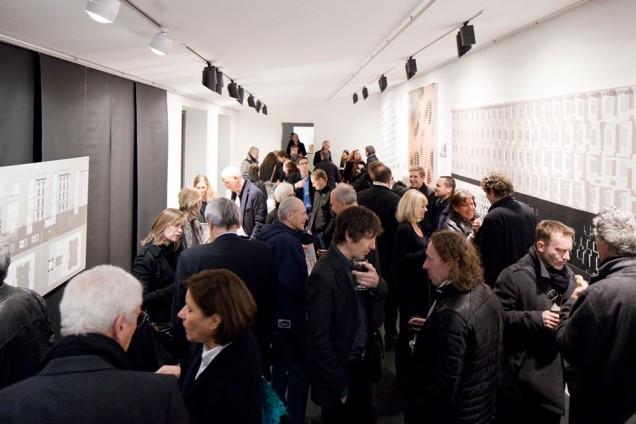 (UN)GEBAUT AMBIVALENT - Architekturgalerie München Vernissage