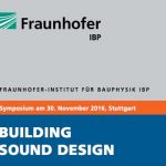 Vortrag am Fraunhofer Institut für Bauphysik