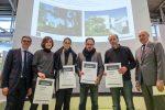 Preisverleihung des Preises GEPLANT + AUSGEFÜHRT 2017 Hier der Anerkennungspreis Haus am See, Starnberg