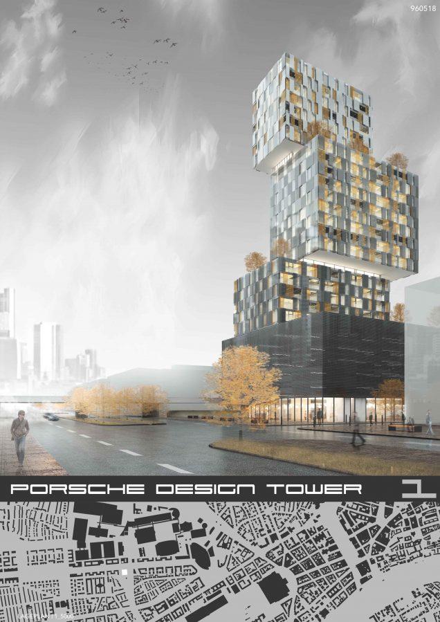 Wettbewerb Porsche Design Tower, Frankfurt